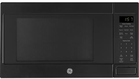 GE 1.6 cu ft Over the counter Microwave-JES1657DMBB-TWS