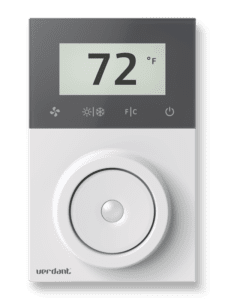 Best Hotel Accessories 2021 Verdant-Energy-Management-Thermostat-Wireless