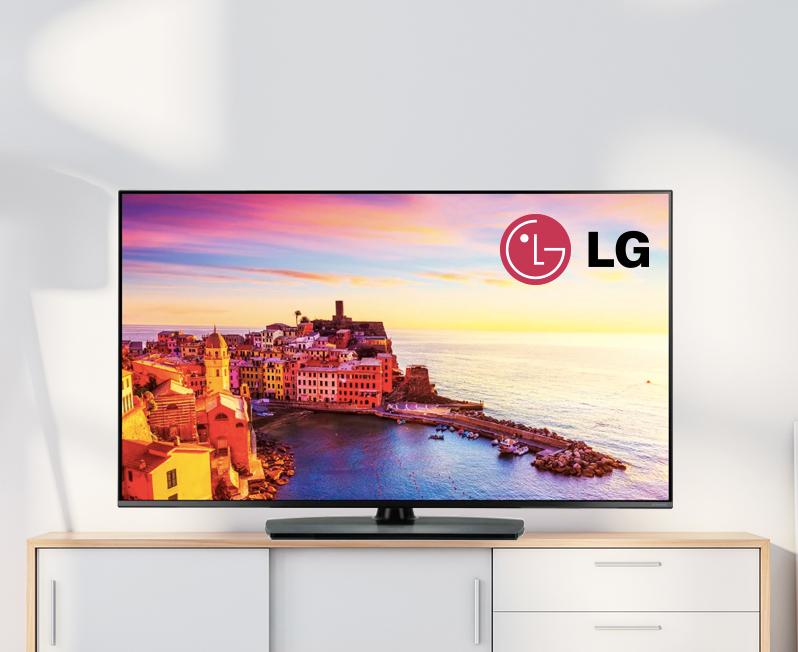 LG Hospitality TV and Pro:Centric Server